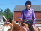 Nancy riding Presley in one of the many 4-H shows we host here on the property.